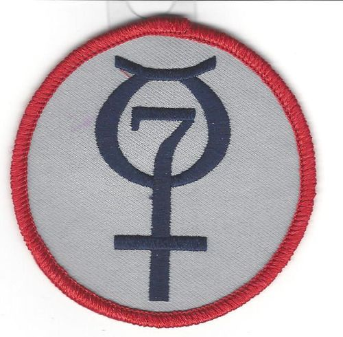 Project Mercury Souvenir Program Patch