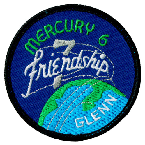 Mercury-Atlas 6 Souvenir Mission Patch
