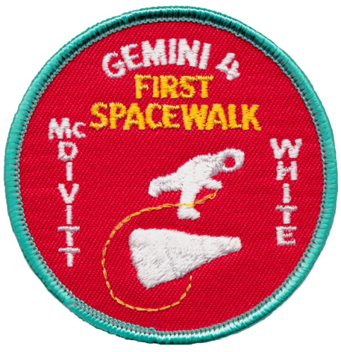 Gemini 4 Souvenir Mission Patch