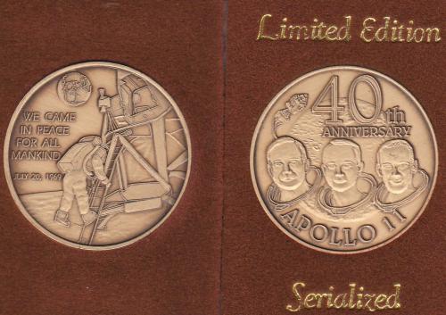 apollo 7 commemorative coin values - photo #46