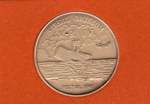 Mercury-Redstone 4 Commemorative Coin
