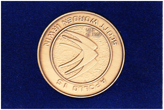 Apollo 15 Commemorative Coin