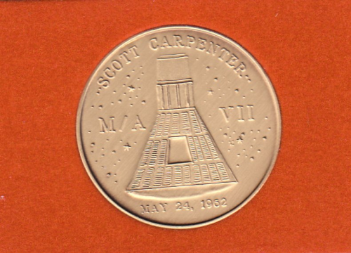 Mercury-Atlas 7 Commemorative Coin