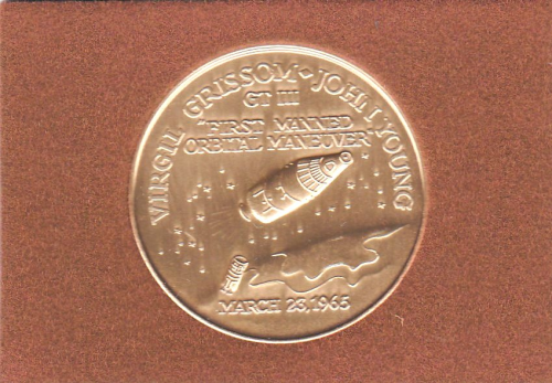 Gemini 3 Commemorative Coin