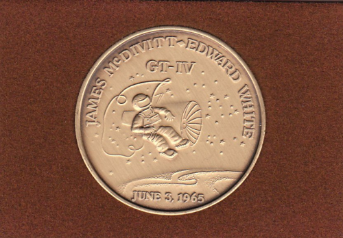 Gemini 4 Commemorative Coin