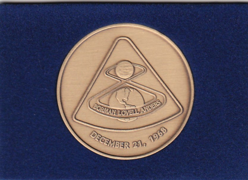 Apollo 8 Commemorative Coin