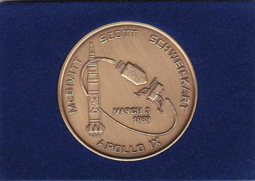 Apollo 9 Commemorative Coin