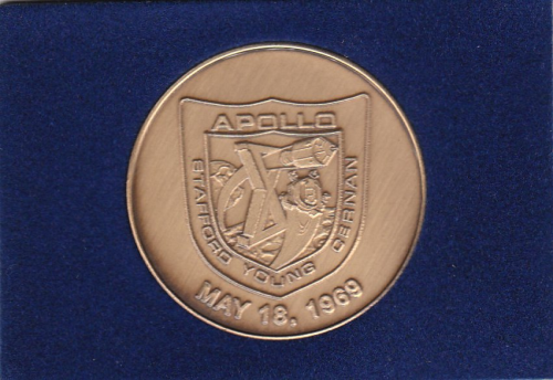 Apollo 10 Commemorative Coin