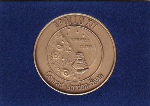 Apollo 12 Commemorative Coin