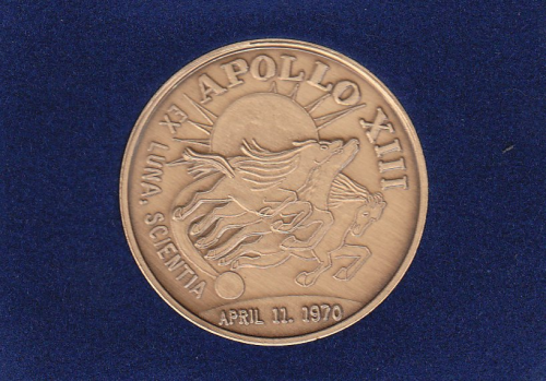 Apollo 13 Commemorative Coin - US AIR FORCE SPACE AND ...