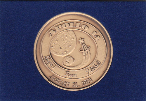 Apollo 14 Commemorative Coin