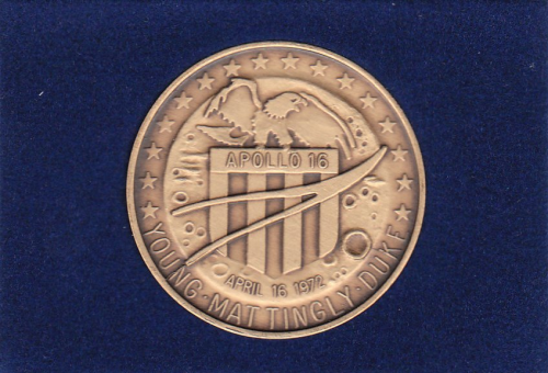 Apollo 16 Commemorative Coin