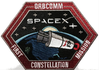 ORBCOMM SpaceX Mission Patch,