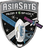 AsiaSat6 SpaceX Patch