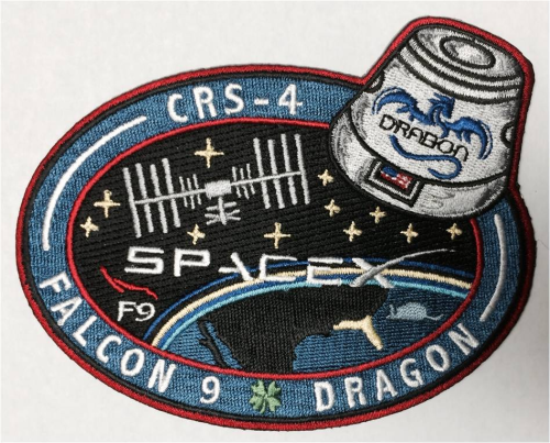 CRS-4 SpaceX Mission Patch
