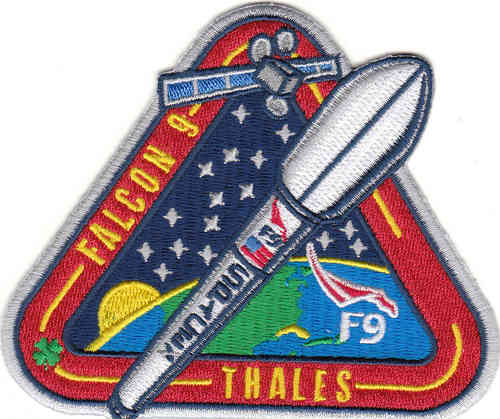 THALES SpaceX Mission Patch