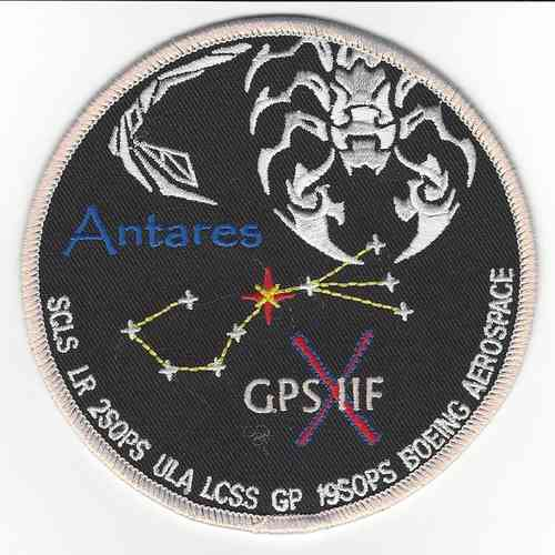 GPS IIF- 10 Payload Patch - 45th LCSS Support Squadron