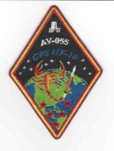GPS IIF-10 Launch Vehicle Patch - Atlas V