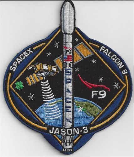 Jason-3 SpaceX Mission Patch