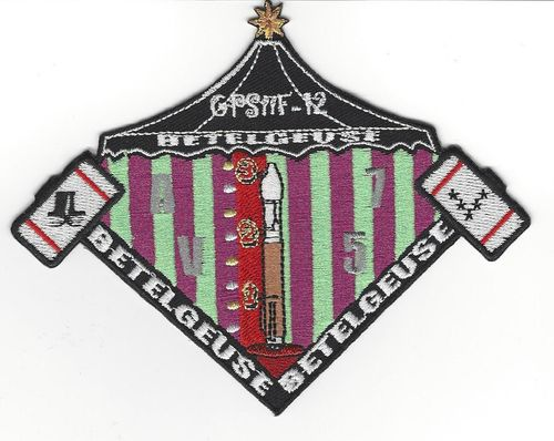 GPS IIF-12 Mission - Launch Vehicle Patch
