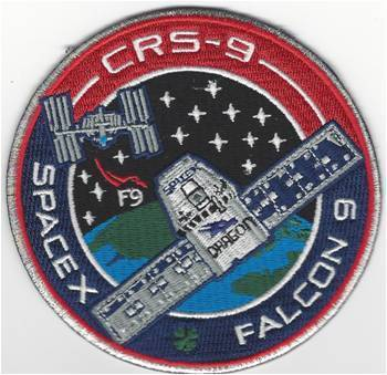 SpaceX CRS-9 Mission Patch