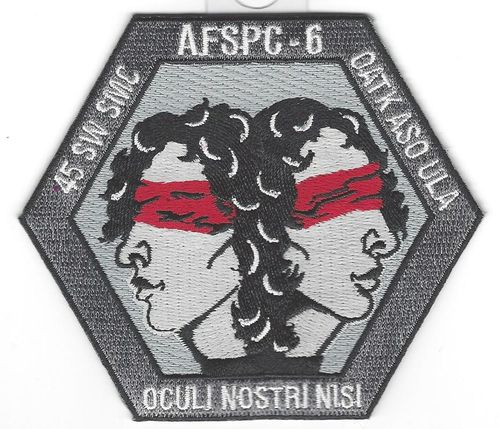AFSPC-6 Mission Patch - 45th LCSS