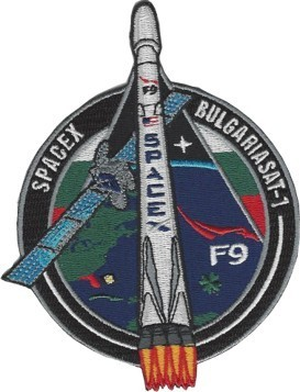 Patch, SpaceX BulgariaSat-1