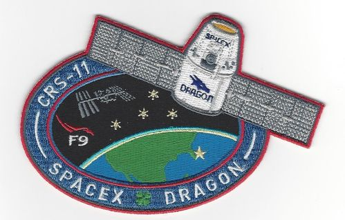 CRS-11 SpaceX Mission Patch