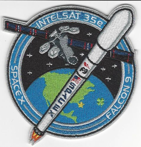 SpaceX Mission Patch - INTELSAT 35E
