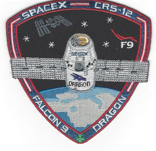 SpaceX CRS-12 Mission Patch