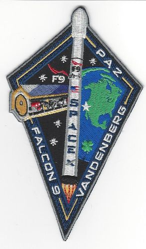 SpaceX PAZ Mission Patch