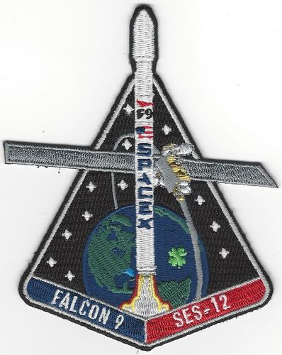 SpaceX SES-12 Mission Patch