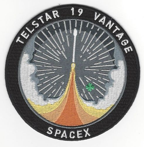 SpaceX Telstar 19 Vantage