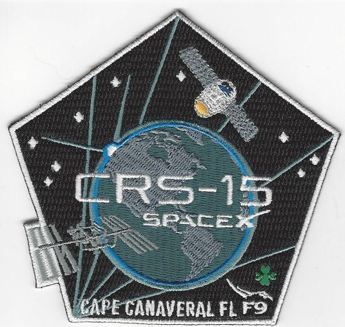 SpaceX CRS-15 Mission Patch