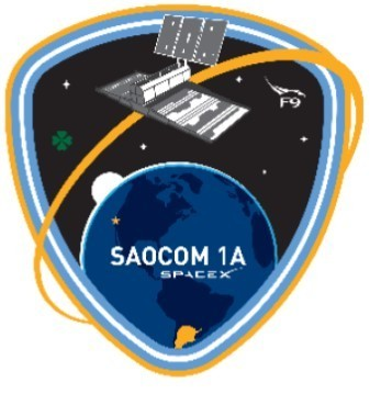 SpaceX SAOCO<-1A mission patch