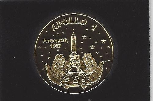 Apollo I Commemorative Gold coin