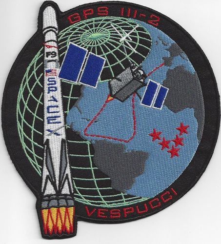 GPSIII-2 Mission Patch - 5th SLS