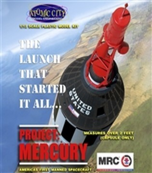 Project Mercury Model Kit