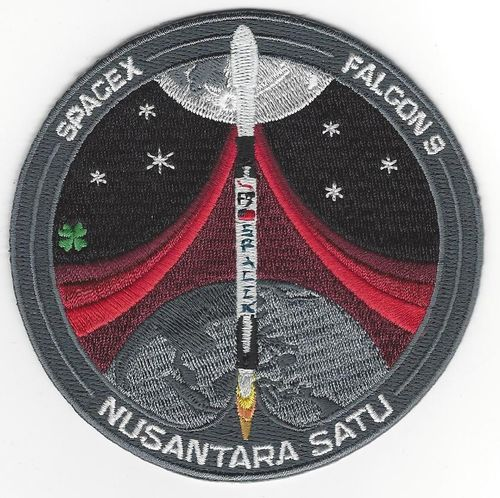 SpaceX Nusantara Satu Mission Patch