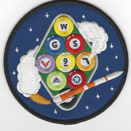 WGS-9 Mission Patch