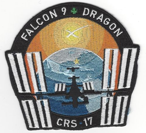 SpaceX CRS-17 Mission Patch