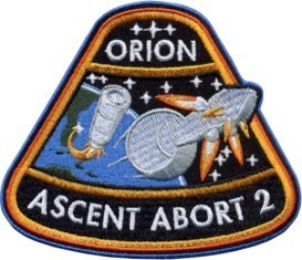 Orion Ascent Abort 2 Mission Patch