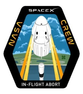 SpaceX In-Flight Abort Mission Patch