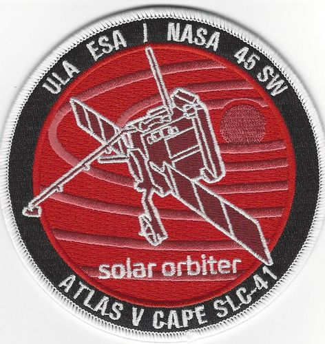 Solar Orbiter Mission patch