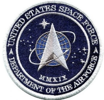 US Space Force Embroidered Patch