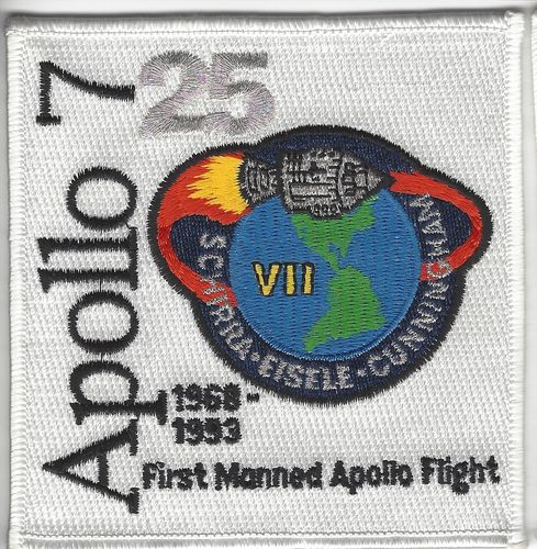 Apollo 7 25th Anniversary Patch