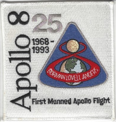 Apollo 8 25th Anniversary Patch