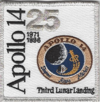 Apollo 14 25th Anniversary Patch