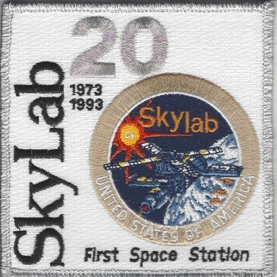 Skylab Program Patch - 20th Anniv