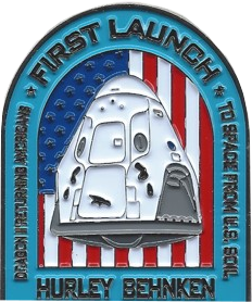 Dragon II Crew Demo Challenge Coin